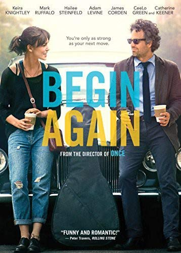 Begin Again (Best Anchor Bay Entertainment Dvd Releases)