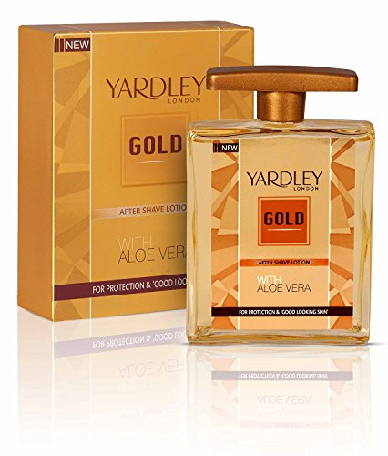 Yardley Gold After Shave Lotion with Aloe Vera, 50ml BY PIHUZ STORE