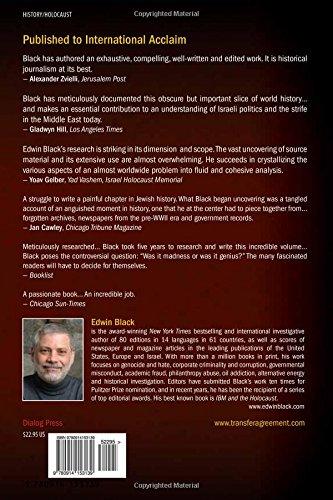 The Transfer Agreement Edwin Black Pdf