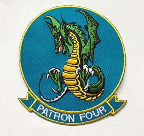 VP-4 Skinny Dragons Squadron Patch - Plastic ()