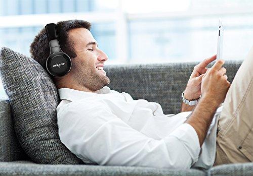 Amazon.com: ZEALOT B20 Wireless Headset Foldable On-Ear Bluetooth Headphones with HD Sound Quality Superior Bass (Black): Electronics