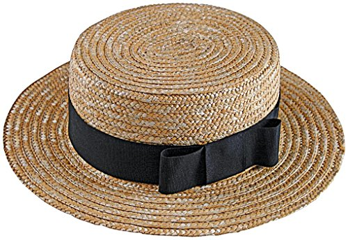 I Love Lucy Costume Ricky (I Love Lucy Ricky Ricardo Straw Hat & Bow Tie Set)