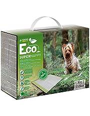 Croci Super Nappy Eco zuigmat voor honden, 57 x 54 cm, 14 vloermatten, 600 g