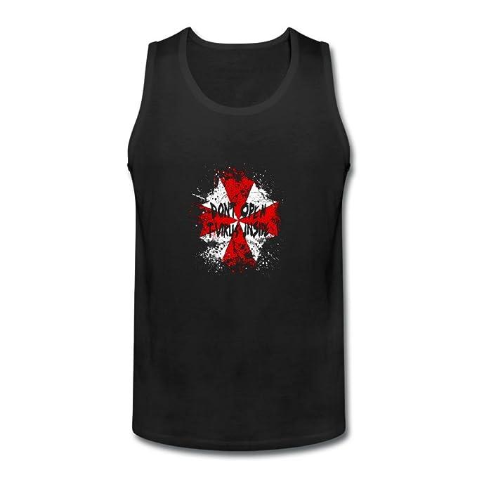 zhibo Dont Open T-Virus interior personalizado camiseta de tirantes para hombre