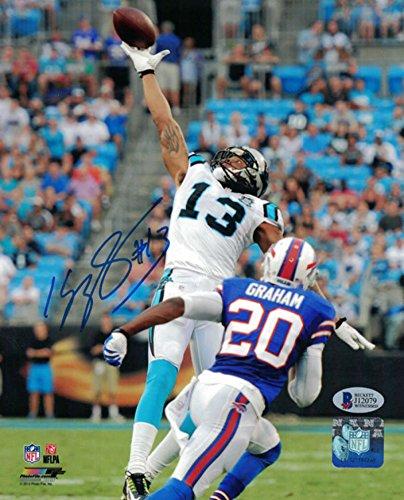 Kelvin Benjamin Autographed Carolina Panthers 8x10 Photo BEC