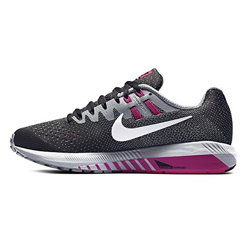 Womens Nike Air Zoom Structure 20 Running Shoe (Wide)