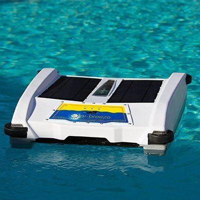 Solar Breeze NX Automatic Pool Skimmer- Smart Robot, Powered by the Sun- New for 2016!