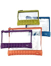 Lug Clearview Envelopes 4-Piece Set, Assorted, One Size