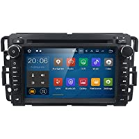 2Din Car In Dash Radio DVD Player for GMC Buick Chevy HIZPO Android 7.1 OS 2GB RAM Multi-Media Player WIFI 4G BLUETOOTH TPMS DAB+ OBD2 TV