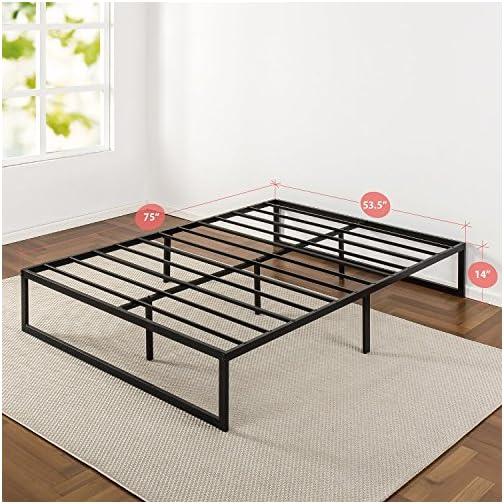 Zinus Abel 14 Inch Metal Platform Bed Frame / Mattress Foundation / No Box Spring Needed / Steel Slat Support / Easy…