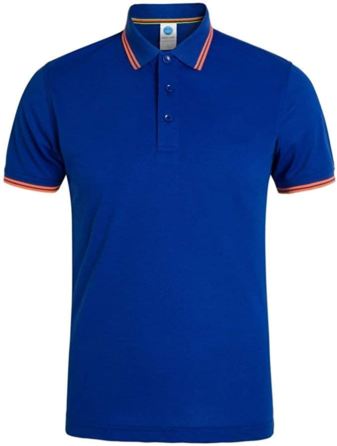 Camisas De Polo Hombres Mujeres Camisa Polo Clásica Fit De Slim ...