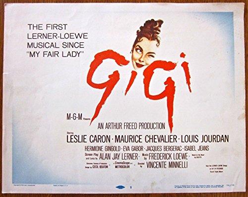 PRICE CUT GIGI '58 TC LESLIE CARON MAURICE CHEVALIER ~ BEST PICTURE - Gigi Price