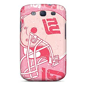 Shock-Absorbing Hard Cell-phone Cases For Samsung Galaxy S3 (VnY1613psSy) Allow Personal Design Vivid New York Giants Series