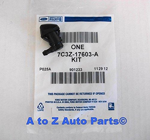 - 2 X 2008-2010 Ford Super Duty F250-f550 Lh or Rh Windshield Washer Jet Nozzle