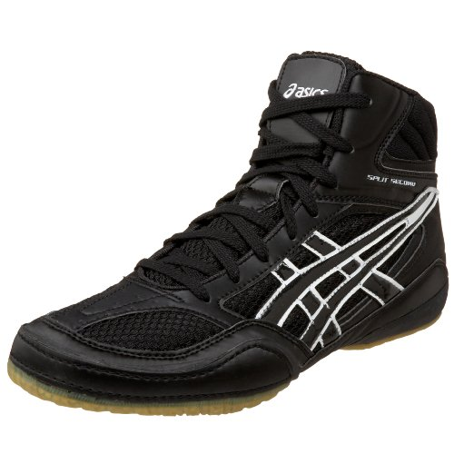Amazon.com | ASICS Men's Split Second Wide Wrestling Shoe, Black ...