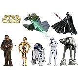 Stickers Enfant - Stickers enfant planche de stickers Star wars - 30x20cm