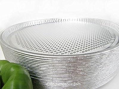 """Disposable Aluminum 13"""" Pizza Pans By D & W Fine Pack #C81"""