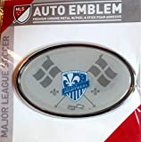 Montreal Impact Raised Metal Domed Oval Color Chrome Auto Emblem Decal MLS Soccer Football Club