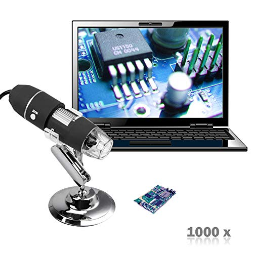 - Blue-Ocean-11 - New Mega Pixels 1000X 8 LED USB Digital Microscope Endoscope Camera Microscopio Magnifier Z