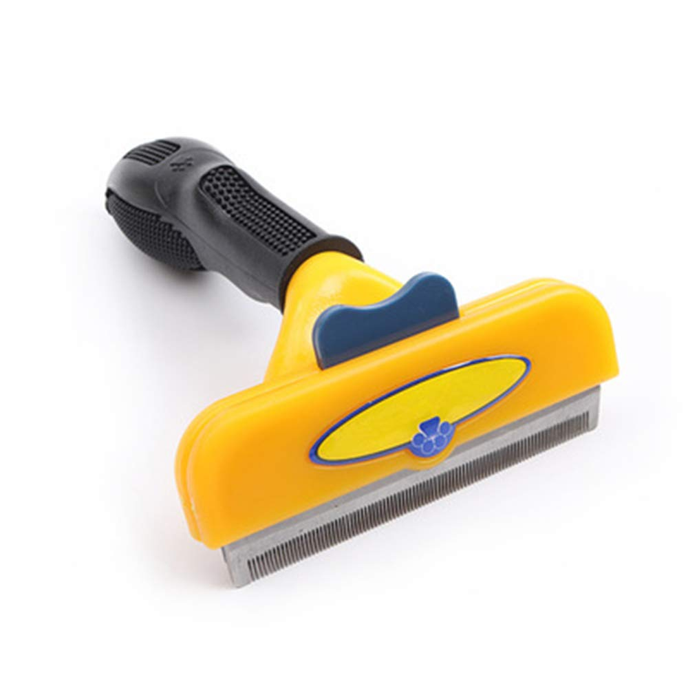XYSRZ Deshedding Brush-Dog Hair; Cat Hair Shedding Tool .for cat and Dog for Long, Medium and Short Hair.