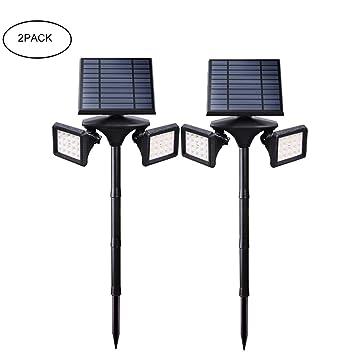 HULYZLB Foco Solar Exterior 40 LED Proyector Solar ...