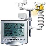 Estación meteorológica profesional wh3080se (Second Edition 2016), USB, PC de análisis Win 7,8,10& Mac, viento, Lluvia, UV
