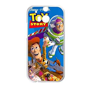 HTC One M8 Cell Phone Case White Disneys Toy Story Semvk