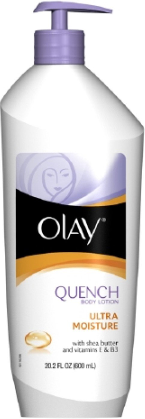 OLAY Quench Ultra Moisture Body Lotion 20.2 oz (Pack of 5) by Olay