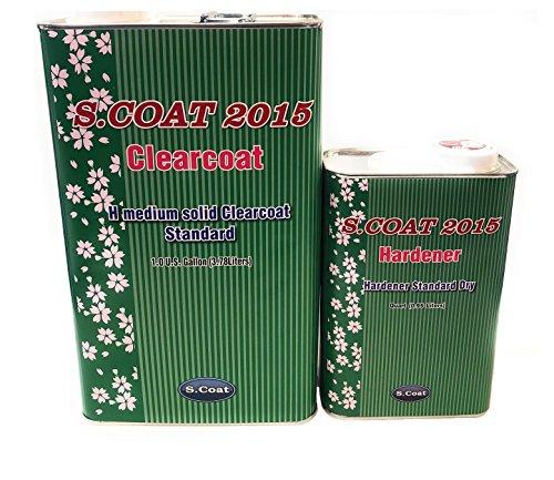 S.COAT MEDIUM SOLID CLEAR COAT GAL W/STANDARD HARDENER 4:1 by S.COAT