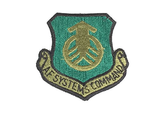 USAF SYSTEMS COMMAND PATCH COLOR