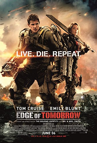 - EDGE OF TOMORROW MOVIE POSTER 2 Sided ORIGINAL FINAL 27x40 TOM CRUISE