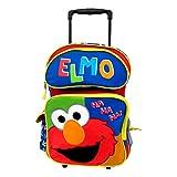Large Rolling Backpack - Sesame Street - Elmo New 054582