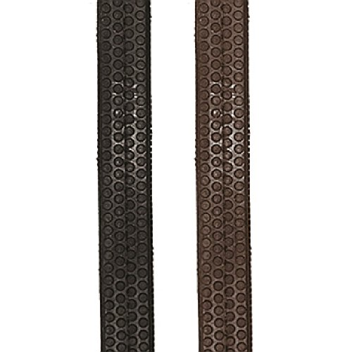 Soft Grip Reins - JHL Rubber Grip Reins (Cob/Full) (Black)