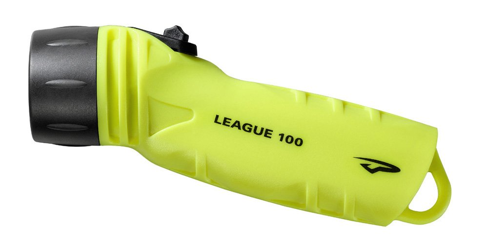 Princeton Tec AMP League LED Dive Light (260 Lumens, Neon Yellow)