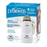 Dr. Brown's Deluxe Bottle Warmer | 1-Button Start | LCD Control Panel (Bottle Warmer)