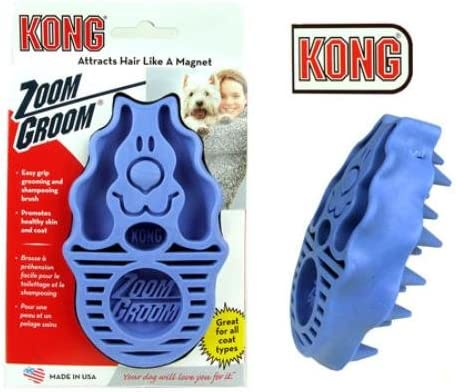 KONG Dog ZoomGroom Multi-Use Brush