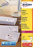 Avery L7163-100 Self Adhesive Address/Mailing Labels, 14 labels per A4 Sheet