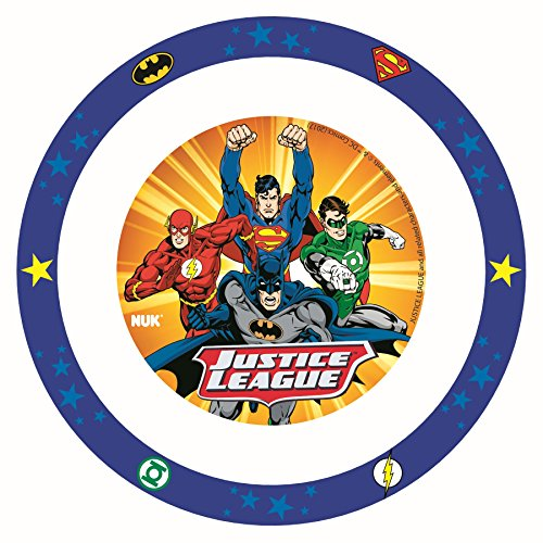 NUK Justice League Bowl, Batman & Justice League, 1pk