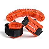 MEETBABY Anti Lost Wrist Link,Safety Toddler Harness,Child Safety Tether,Child Restraint Leash,Kids Wrist Strap For Baby Travel Outdoor Safety Harness(1.5M,Orange)
