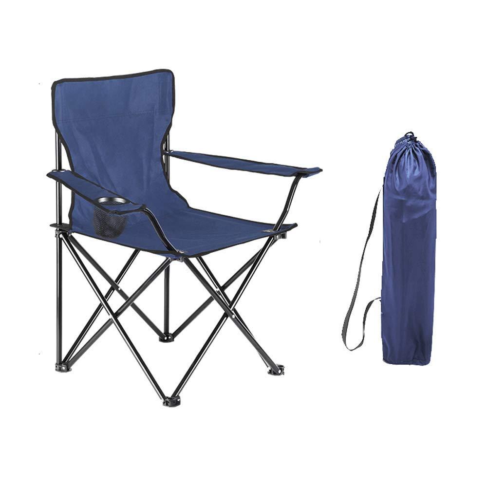 B  AYLS Chaise de Camping en Plein air, Fauteuil de pêche, randonnée pédestre, Pique-Nique, Jardin, extérieur Pliable avec Sac de Transport