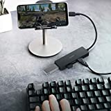 AUKEY USB C Hub Ultra Slim USB C Adapter with 4 USB 3.0 Ports USB Type C Hub for MacBook Pro 2019/2018/2017, Google Chromebook Pixelbook, XPS, Samsung S9/S8 and More USB Type C Devices