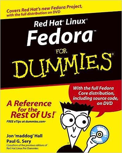 Amazon com: Red Hat Linux Fedora For Dummies eBook: Jon Hall