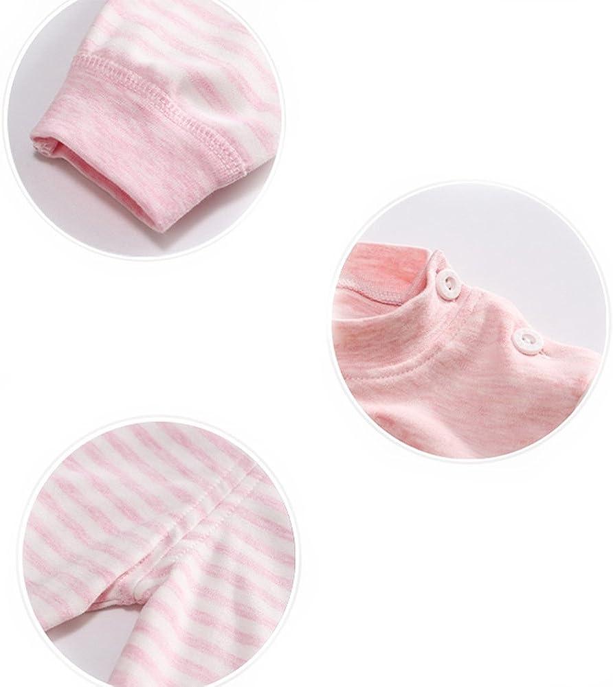 6M-5Years 100/% Cotton Baby Boys Girls Pajamas Set Long Sleeve Sleepwear