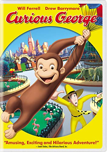 Curious George (Widescreen Edition) (Monkey Curious Christmas Song George)