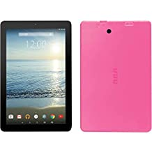 """RCA Viking Pro 10"""" Tablet Quad-Core 32GB Android 5.0 Lollipop with Detachable Keyboard (Pink)"""