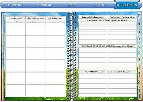 """JOT 2020 Weekly Planer Calendar Day Time 4"""" x 6.5"""" NWT"""