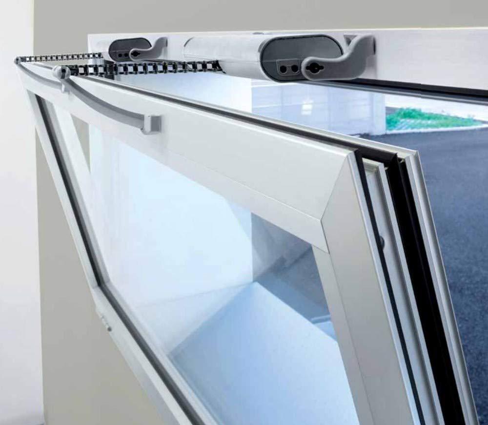Liwin Elektrischer Fenster/öffner mit Kettenantrieb Farbe schwarz.