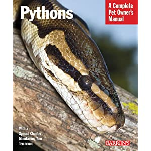 Pythons (Complete Pet Owner's Manual) 15