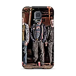 Scratch Resistant Cell-phone Hard Cover For Samsung Galaxy S5 With Customized HD Foo Fighters Image ChristopherWalsh