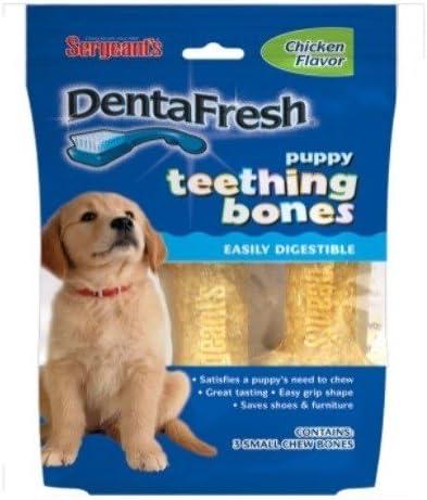 Amazon.com: Sargento de 22221 Denta Fresh cachorro dentición ...